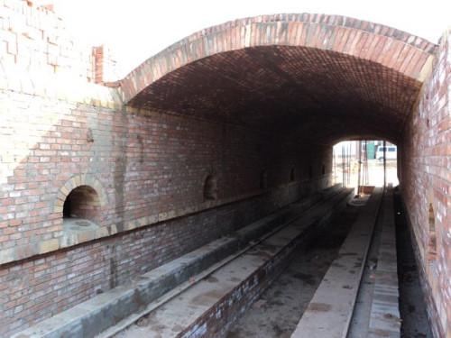 隧道窑焙烧